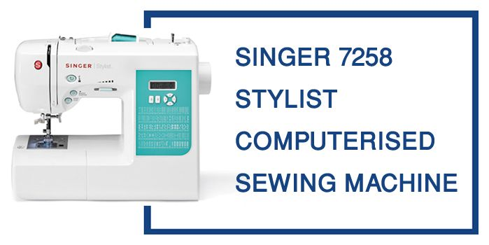 Singer 40 Review 40Stitch Computerized Sewing Machine Delectable Singer Stylist 7258 Sewing Machine Reviews
