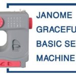JANOME GRACEFUL GRAY BASIC SEWING MACHINE