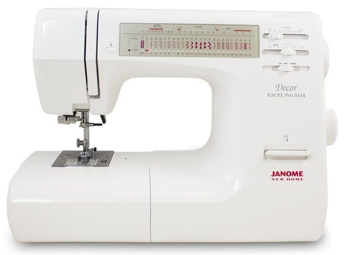 Janome Decor 5124 review