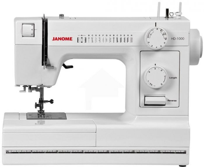 janome hd1000 heavy duty sewing machine reviews