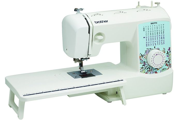 brother xr3774 sewing and quilting machine review