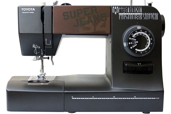 Toyota Super Jeans J40 Review Glides Over 40 Layers Of Denim New Toyota Sewing Machine Reviews