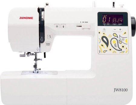 Janome JW8100 100-Stitch Fully-Featured Computerized Sewing Machine review