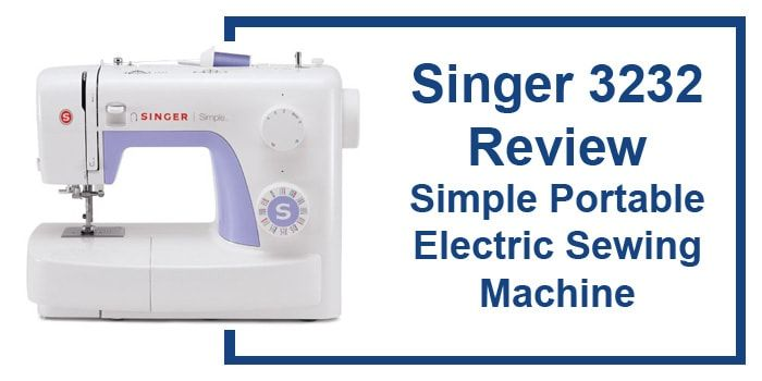 Singer 3232 Review