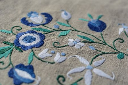 how to remove embroidery with backing